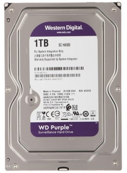 DYSK DO REJESTRATORA HDD-WD10PURX 1TB 24/7 WESTERN DIGITAL