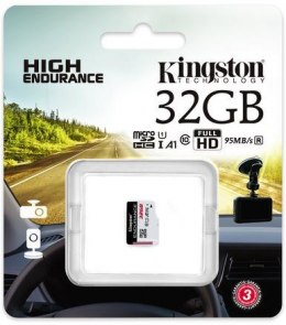 Karta pamięci Kingston High-Endurance microSD 32GB UHS-I U1 24/7