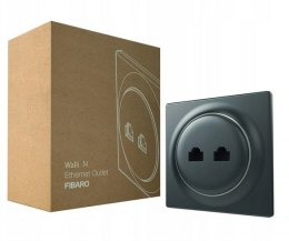 FIBARO Walli N Ethernet Outlet (antracyt)