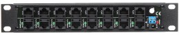 PATCH PANEL POE-8/R10